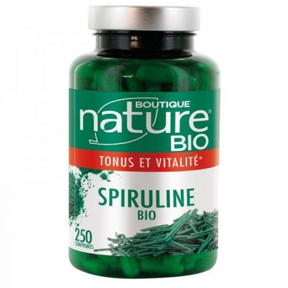 Spiruline bio - Tonus et vitalité - 250 comprimés