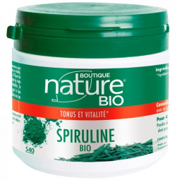 Spiruline bio - Tonus et vitalité - 540 comprimés