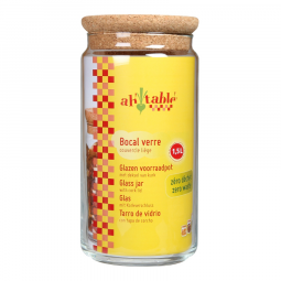 Bocal couvercle liège - 1,5L