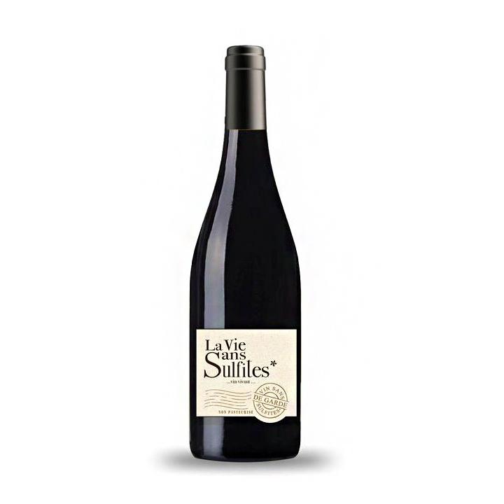 La Vie sans Sulfites - Côte du Rhône Rouge sans sulfites - 75cL