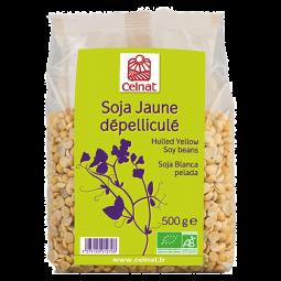 Soja jaune dépelliculé de France -500g