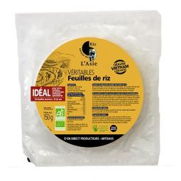 Feuilles de riz blanc - 150g