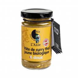 Pâte de curry jaune - 100g