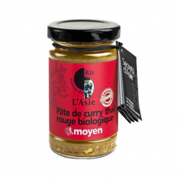 Pâte de curry rouge - 100g