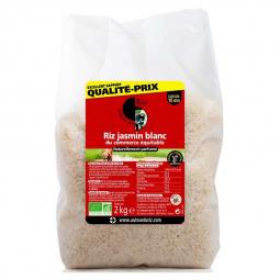 Riz jasmin blanc - 2kg