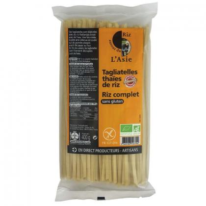 Tagliatelles thaïes de riz complet - 400g