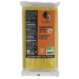 Tagliatelles thaïes de riz au curcuma - 400g