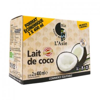 Lait de coco - 2x400mL