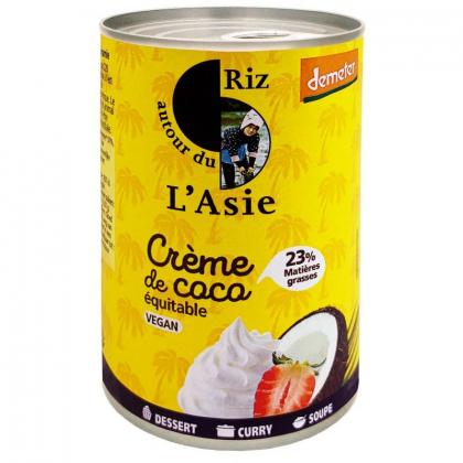 Crème de coco 23% - 400mL