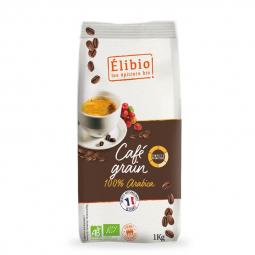 Café bio en grains - 100% Arabica - 1kg