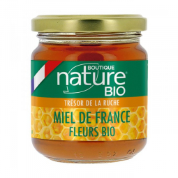 Miel de France - Fleurs bio - 250g