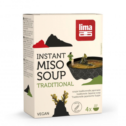 Soupe miso instantanée - 4x10g