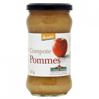 Compote de pommes Demeter - 315g