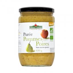 Purée de pommes et poires - 630g