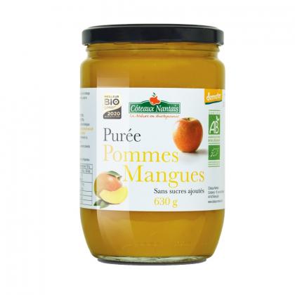 Purée de pommes et mangues - 630g