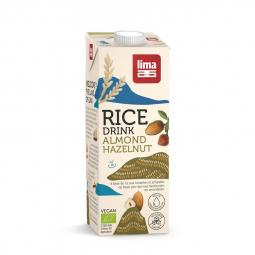 Boisson de riz, amande et noisette - 1L