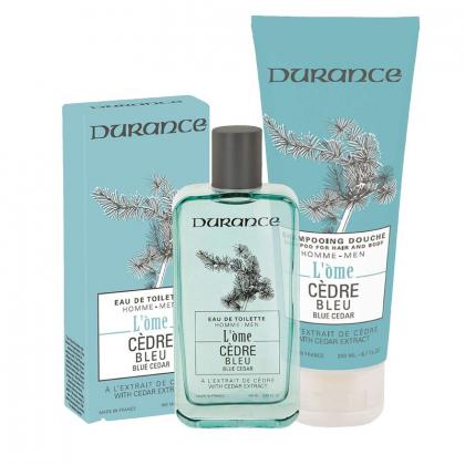 Duo l'Ôme Cèdre bleu - Eau de toilette et shampooing