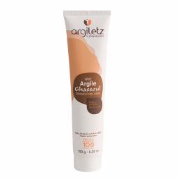 Pâte d'argile Ghassoul - Prête à l'emploi, pour le visage, le corps et les cheveux - 150g - Argiletz