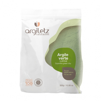 Argile verte surfine - Vrac 300g - ARGILETZ