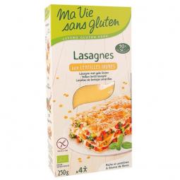 Lasagnes aux lentilles jaunes - 250g
