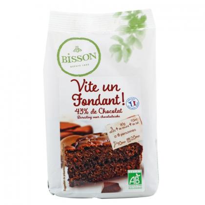 Vite un fondant ! - Préparation pour fondant au chocolat - 300g Bisson