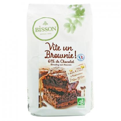 Vite un brownie ! - Préparation pour brownie au chocolat - 300g Bisson