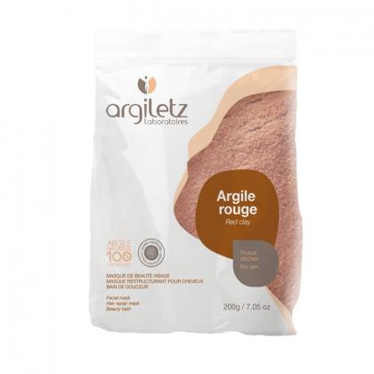 Argile rouge ultra ventilée - 200g ARGILETZ