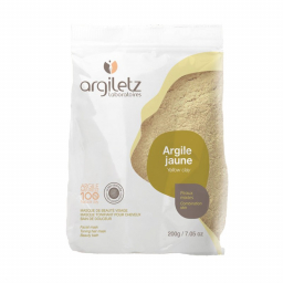 Argile jaune ultra ventilée - Vrac 200g ARGILETZ