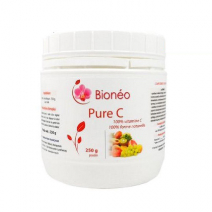 Vitamine C naturelle en poudre - 250g Bionéo