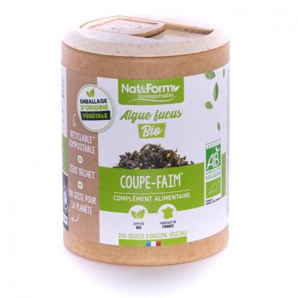 Algue fucus bio - 200 gélules Nat&Form