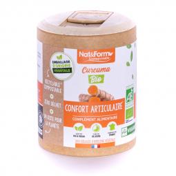 Curcuma - Confort articulaire - 200 gélules Nat&Form