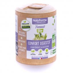 Fenouil bio - Confort digestif - 200 gélules Nat&Form