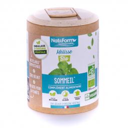 Mélisse bio - Sommeil - 200 gélules végétales Nat&Form