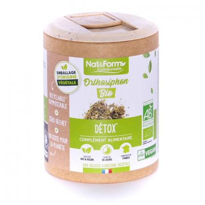 Orthosiphon bio - Détox - 200 gélules végétales Nat&Form