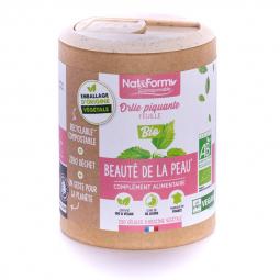 Ortie piquante bio - Beauté et articulations - 200 gélules végétales Nat&Form