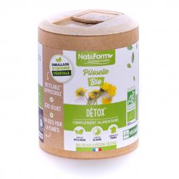 Piloselle bio - Détox - 200 gélules végétales Nat&Form
