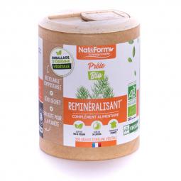 Prêle bio - 200 gélules végétales Nat&Form