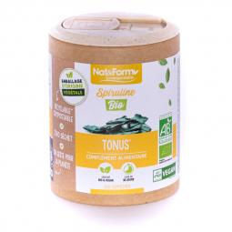 Spiruline bio - Tonus et vitalité - 200 comprimés Nat&Form