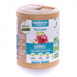 Valériane bio - Sommeil - 200 gélules végétales Nat&Form