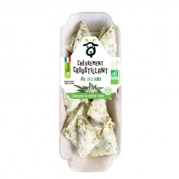 Crackers bio au chèvre frais et ail des ours - 45g Amaltup
