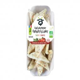 Crackers bio au chèvre frais, thym et tomate - 45g Amaltup