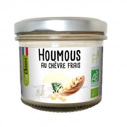 Houmous bio au chèvre frais - 90g Amaltup
