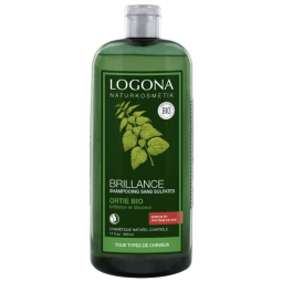 Shampoing brillance à l'ortie bio - 500mL Logona