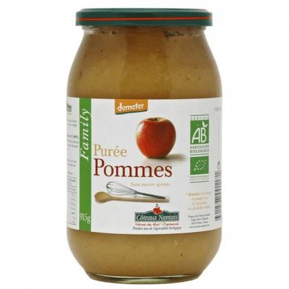 Purée de pomme bio Demeter - 915g Côteaux Nantais