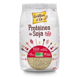 Protéines de soja - Petits morceaux - 300g Grillon d'Or