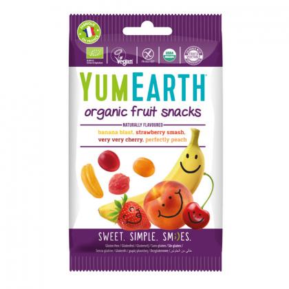 Bonbons géilfiés bio - Fruits snacks - 50g YUMEARTH