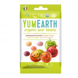 Bonbon gélifiés bio - Beans acidulés aux fruits - 50g YUMEARTH