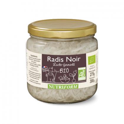 Radis noir bio lacto-fermentés - 380g Nutriform