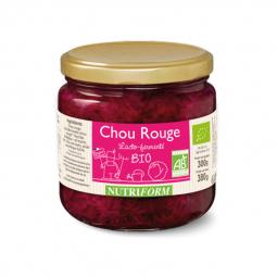 Choux rouge bio lacto-fermenté - 380g Nutriform