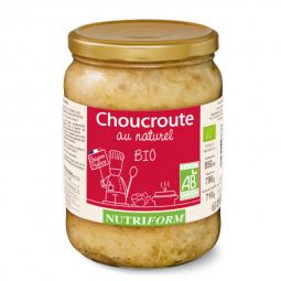 Choucroute bio au naturel - 790g Nutriform
